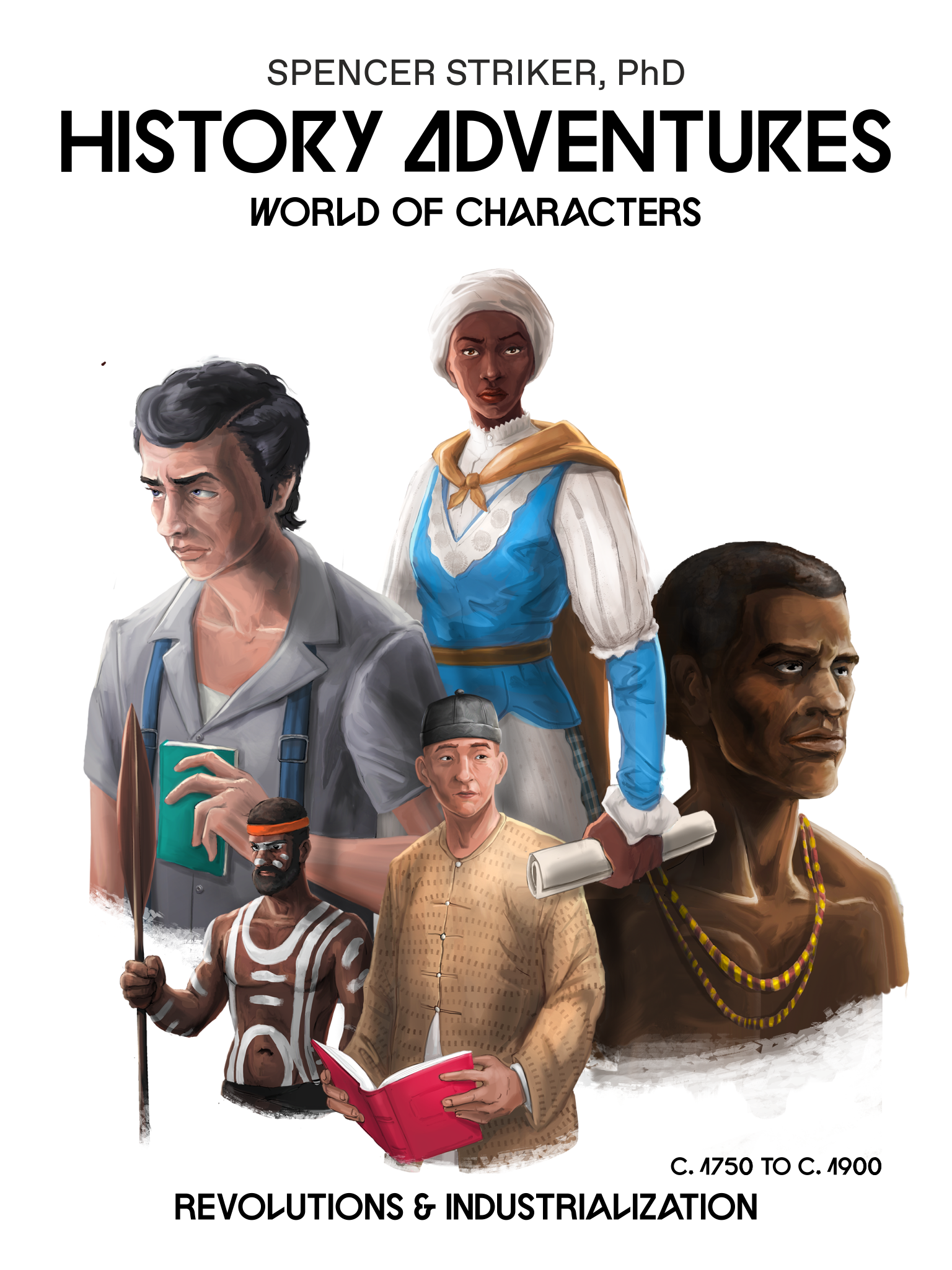 History Adventures, World of Characters - cover art