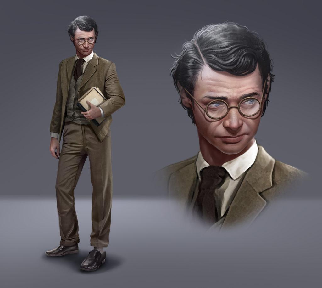 Thomas Brown - studious