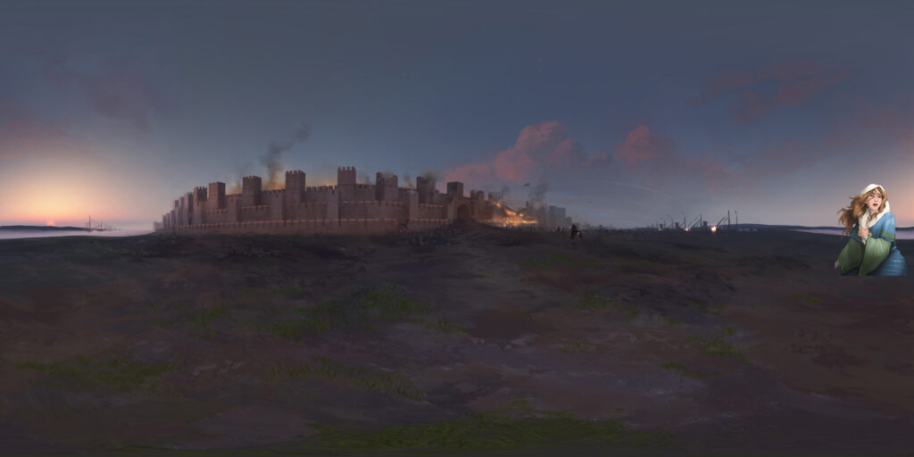 Ioannina Constantinople 360 Panorama Immersive VR Simulation