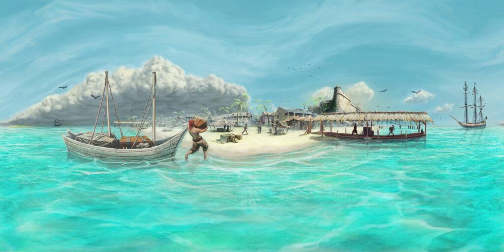 History Adventures Jonas Hard Luck on the High Seas Concept Art Pirate 360 Panorama Immersive VR Interactive