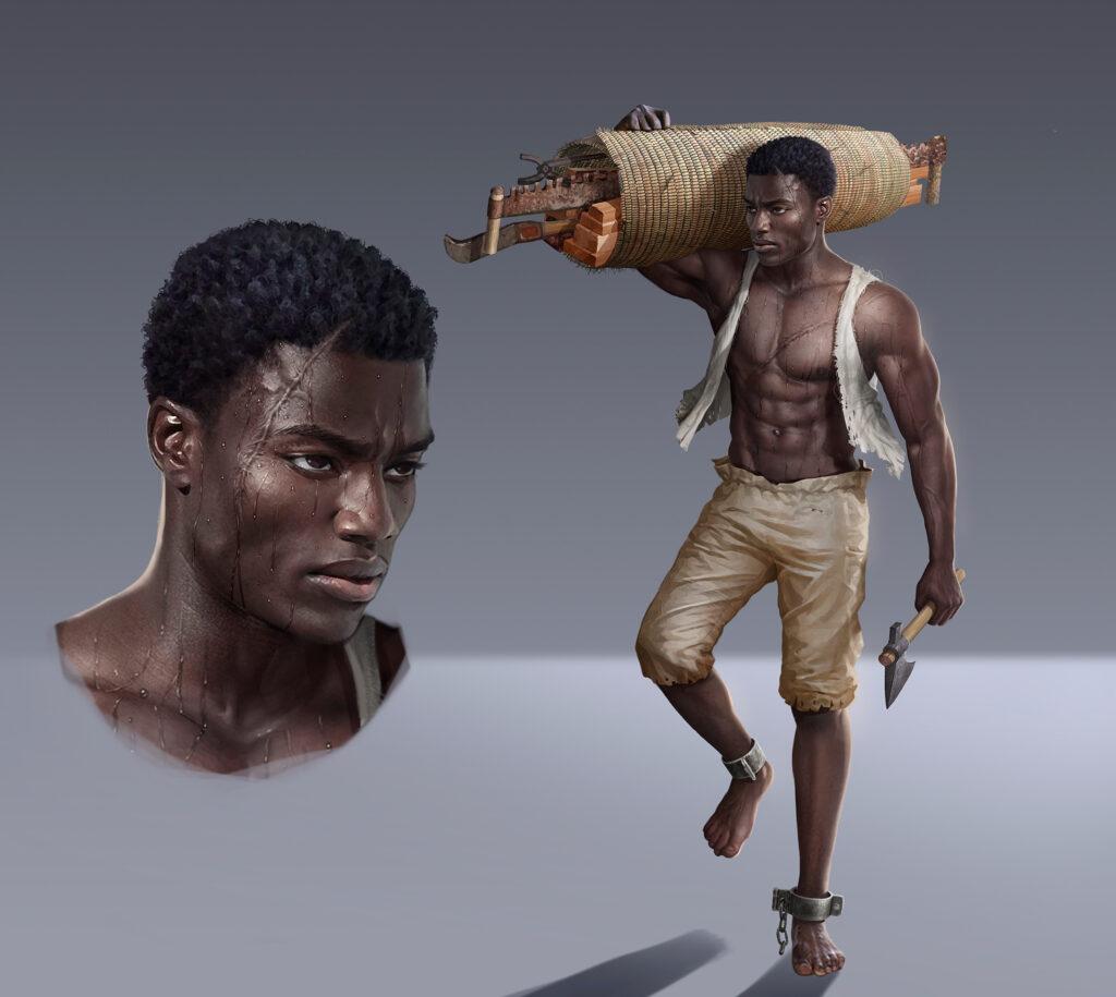 William Jamestown History Adventures 1619 Angolan Slavery