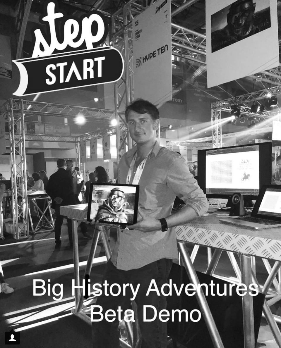 History Adventures Step Start 2018