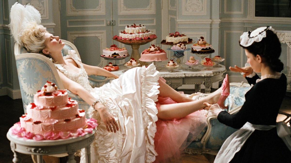 Marie Antoinette says let them eat cake