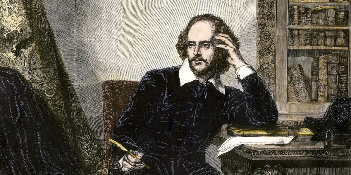 Shakespeare - a great writer
